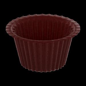 Капсулы для капкейков тёмно-коричневые 50х35 / 900 шт. 2